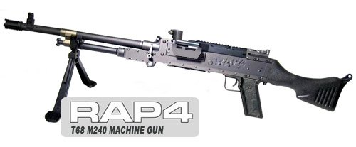 RAP4 T68 M240 Paintball Machine Gun