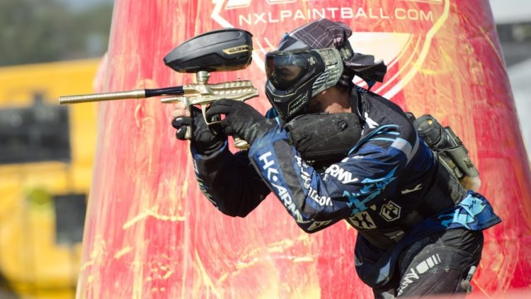 how to use a paintball gun