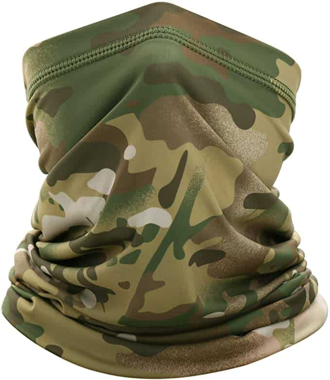 paintball neck coverage with neck gaiter
