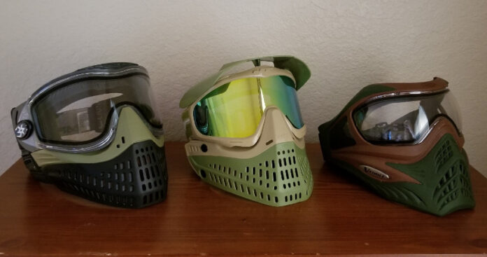 best paintball masks of all time